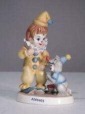 +# A006403 Goebel Archiv Clown Pierrot Narr mit Pudel Poodle Hund Dog 11-630