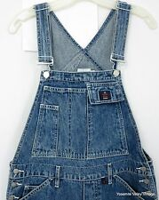 CK Calvin Klein Jeans Small Denim Bib Overalls Blue Cotton Dungarees