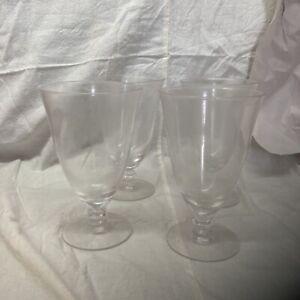 Iced Tea/ Parfait Goblet Glasses Set Of 8