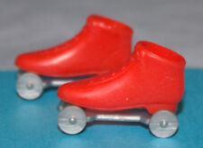 """Vintage-Original-Mattel-Barbie-Skipper-Red Roller Skates-""""Rolla Scoot"""""""