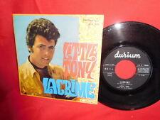 LITTLE TONY Lacrime + Stasera mi pento 45rpm 7' + PS 1969 ITALY MINT-