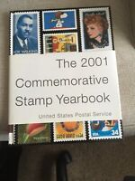 USPS 2001 MINT SET OF COMMEMORATIVE STAMPS  IN ORIGINAL PACKAGING