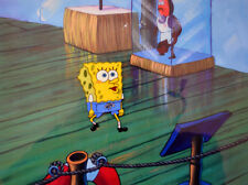 Nickelodeon TV SpongeBob Sponge Bob Original Animation Art Production Cel #82