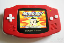 Game Boy Advance GBA IPS V2 Console - Red and White (+ Adjustable Brightness)