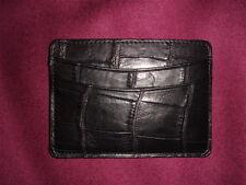 Billy Reid ALLIGATOR Card Case/Wallet