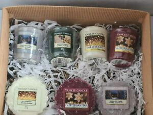 Yankee candle christmas  gift set.....votives and tarts
