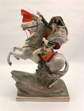"Napoleon Sitzendorf German Porcelain Figurine *Crossing Alps* 16"" Tall"