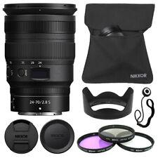 Nikon NIKKOR Z 24-70mm f/2.8 S Lens + Deluxe Accessory Kit