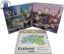 Estland 3,88 Euro 2011 Stgl. KMS 1 Cent bis 2 Euro zur Euro Einführung im Folder