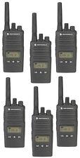 Motorola RMU2080D 2 Watt 8 Channel UHF Radios With Display QTY 6