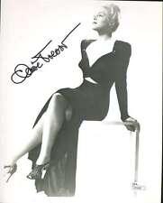 Claire Trevor Jsa Coa Hand Signed 8x10 Photo Authenticated Autograph