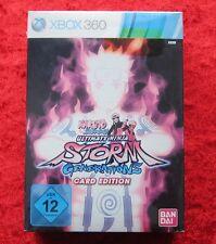 Naruto Shippuden Ultimate Ninja Storm Generations Card Edition XBox 360 Sp., Neu