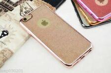 Fundas y carcasas metálicas Para iPhone SE color principal rosa para teléfonos móviles y PDAs