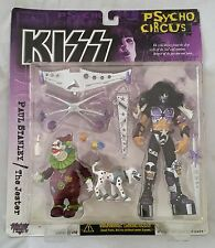 McFarlane Toys KISS PSYCHO CIRCUS Action Figure PAUL STANLEY / JESTER