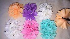 Joblot 30Flower HairClips Wedding Bridal Bridesmaid Prom Festival New Wholesale2