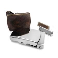 Plain 30 mm Webbing Belt Buckle set - Brand New Repair DIY - AZ6
