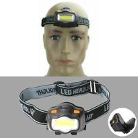 Super Bright Waterproof Head Torch Headlight LED USB Rechargeable Headlamp new