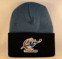 Washington Wizards NBA Vintage Cuffed Knit Hat Blue Black