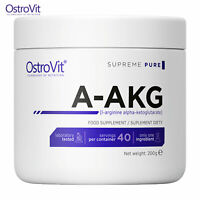OSTROVIT AAKG 200g L-Arginine Powder - NO Booster - Strong Muscle Pump & Growth