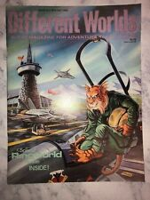 1984 Different Worlds #37 with Ringworld Module