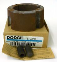 "DODGE BALDOR TAPER LOCK BUSHING SIZE 2012, 117094, 1 3/4"" BORE,"