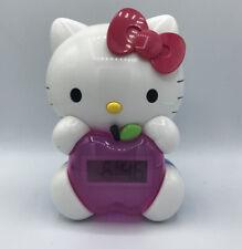 Hello Kitty Alarm Clock 2012 Lights Up Girls Bedroom Decoration Free Shipping