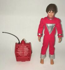 1980 Mattel Mork & Mindy Tv Show Mork W/Talking Spacepack Loose W/O Boots