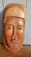 Wooden Carved Vintage Mask