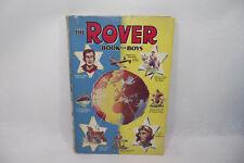 THE ROVER BOOK FOR BOYS 1955 livre ancien en anglais Histoire aventure jeunesse