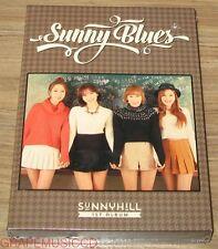 SUNNY HILL 1ST ALBUM Part B / Sunny Blues K-POP CD + POSTER IN TUBE CASE SEALED