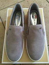 Michael Kors Keaton Quilted Slip On Sneaker In Pearl Grey Size 10 NWOB