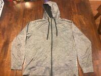 Men's Reebok Crossfit/Gym Athletic Full Ship Hooded Sweatshirt Sz. L #23