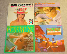 """4x 12"""" Vinyl LP Ray Conniff WORLD OF HITS Constanze Herb Alpert GOING PLACES"""