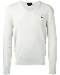 RALPH LAUREN V-NECK JUMPERS - Free Gift Wrapping Available