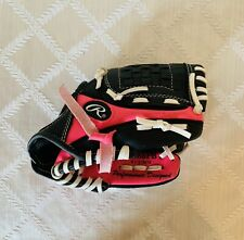 Rawlings Baseball Glove Players Series Youth Kids Girls Pink/Black  PL85PB 8.5""