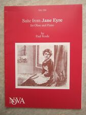 Suite from Jayne Ayre for Oboe & piano by Paul reade *NEW* Nova NM 388