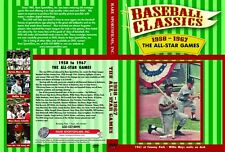 1958-1967 Baseball All-Star Games now on DVD in Color!