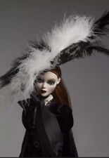 "18.5"" Tonner~Evangeline Ghastly~Cemetery Chapeau Hat~Nib~Nrfb~Rare!"