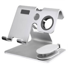 2 In 1 Aluminum Charging Dock Station Stand Holder For Apple Watch Iphone pro XR
