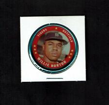 1971 TOPPS COIN #130 WILLIE HORTON EX/EXMT TIGERS