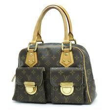 Authentic Louis Vuitton Manhattan PM Hand Bag M40026 Monogram 21D