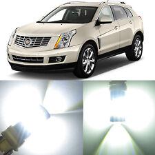 Alla Lighting Turn Signal Light 7440 7443 White LED Bulbs for 10~16 Cadillac SRX
