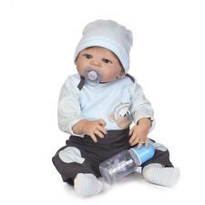 "23"" Baby Boy Reborn Doll Realistic Handmade Lifelike Newborn Dolls Xsmas Gift"