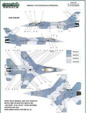 Model Maker Decals 1/48 GREEK F-16 FALCON STENCILS AND INSIGNIAS