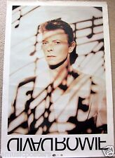 "DAVID BOWIE ""BLACK TIE WHITE NOISE"" GIANT SUBWAY U.S. PROMO POSTER"