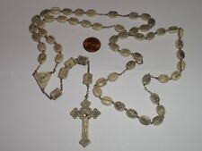 VINTAGE ROSARY PAT. C. CIVELLI DETAILED WAS $250