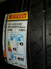 295 30  ZR19.  Xl. (RIGHT)  pirelli  pzero corsa  100y.asim  Never fitted