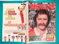D IL GIORNALINO 1980 6,ROBERTO PRUZZO POSTER,BONIPERTI,THOR NILSEN,JAMES ARNESS