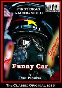 FUNNY CAR EXPERIENCE, ORIGINAL First ever nitro drag video 1986 by Dean Papadeas