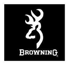 Browning Deer Buck Head Hunting Rifle  VINYL WINDOW DECAL CAR TRUCK STICKER 6x5